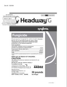 Headway G Fungicide Label
